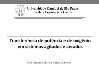 Universidade Estadual de S�o Paulo Escola de Engenharia de Lorena