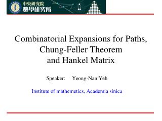 Combinatorial Expansions for Paths, Chung-Feller Theorem  and Hankel Matrix