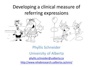 Developing a clinical measure of referring expressions