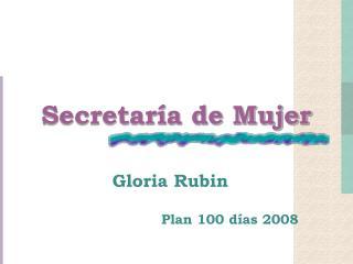 Secretaría de Mujer