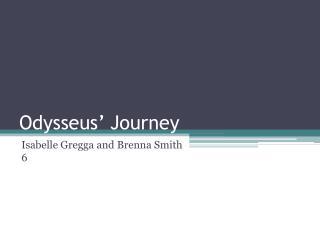 Odysseus� Journey