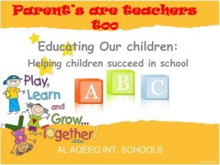 AL AQEEQ INT. SCHOOLS