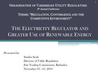 "Theme: "" Regulation, Convergence and the Competitive Environment """