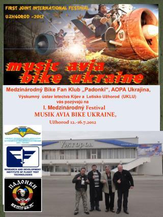 """Medzinárodný Bike Fan Klub """"Padonki"""", AOPA Ukrajina,"""