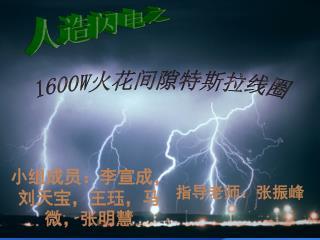 小组成员:李宣成,刘天宝,王珏,马微,张明慧