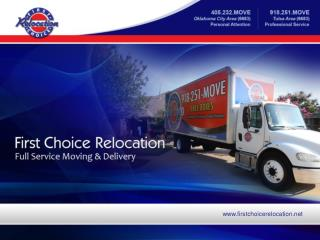 Full Service Moving Company in Oklahoma