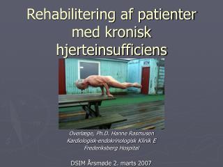 Rehabilitering af patienter med kronisk hjerteinsufficiens