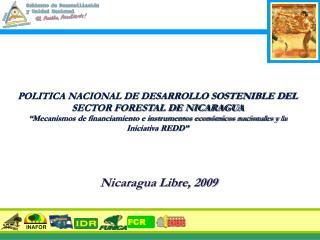 POLITICA NACIONAL DE DESARROLLO SOSTENIBLE DEL SECTOR FORESTAL DE NICARAGUA