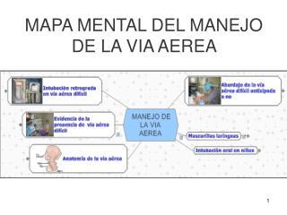 MAPA MENTAL DEL MANEJO DE LA VIA AEREA
