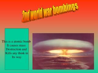 2nd world war bombings