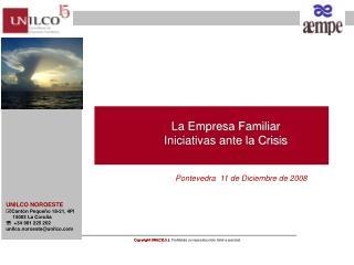 La Empresa Familiar Iniciativas ante la Crisis