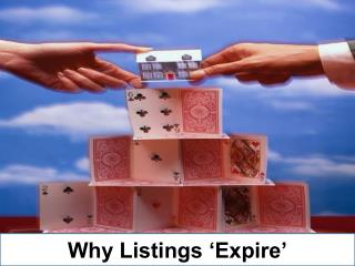Why Listings 'Expire'