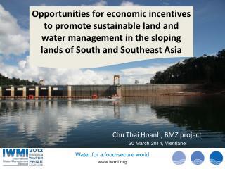 Chu Thai Hoanh, BMZ  project