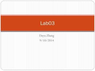 Lab03
