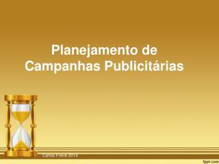 Planejamento de Campanhas Publicit�rias