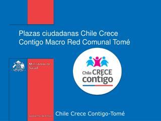 Chile Crece Contigo-Tomé