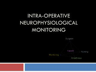 Intra-Operative Neurophysiological Monitoring