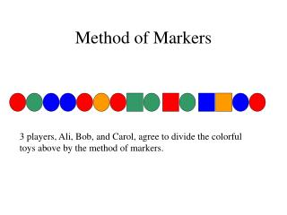 Method of Markers