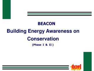 Building Energy Awareness on Conservation
