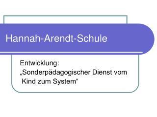 Hannah-Arendt-Schule