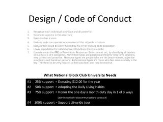 Design / Code of Conduct