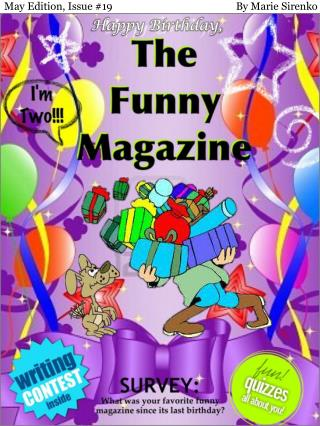 May Edition, Issue #19