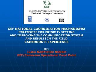 GEF NATIONAL COORDINATION MECHANISMS: