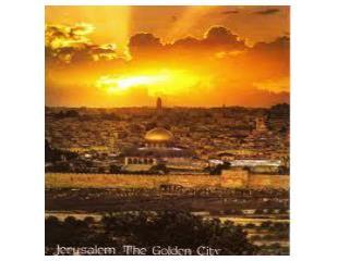 JERUSALEM I wept until my tears were dry I prayed until the candles flickered