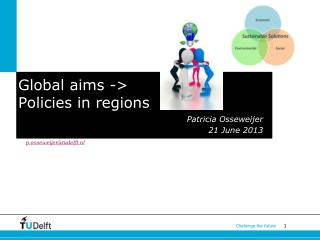 Global aims -> Policies in regions