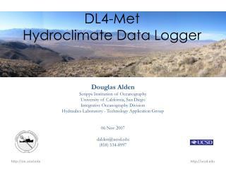 DL4-Met Hydroclimate Data Logger