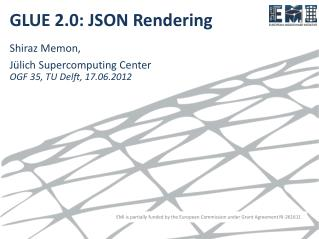 GLUE 2.0: JSON  Rendering