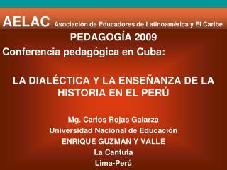 AELAC Asociación de Educadores de Latinoamérica y El Caribe