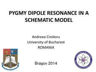 PYGMY DIPOLE RESONANCE IN A SCHEMATIC MODEL