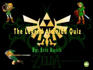 The Legend of Zelda Quiz