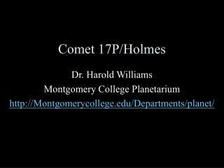 Comet 17P/Holmes