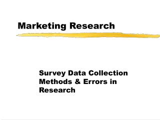 observation method in marketing research Learn about market observation, a market research technique in which data is collected and analyzed to test consumer readiness in a new place.