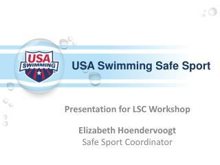 USA Swimming Safe Sport