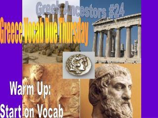 Greek Ancestors #24