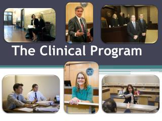 The Clinical P rogram