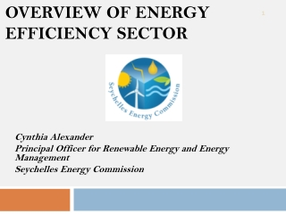 Renewable Energy and Energy Management