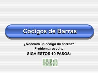 C ódigos de Barras