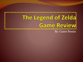 The Legend of Zelda  Game Review