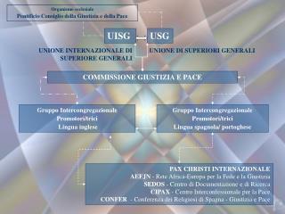 Organismo ecclesiale Pontificio Consiglio della Giustizia e della Pace