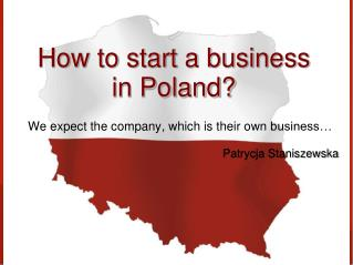 How to start a business in Poland?