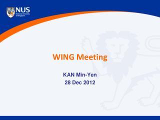 WING Meeting
