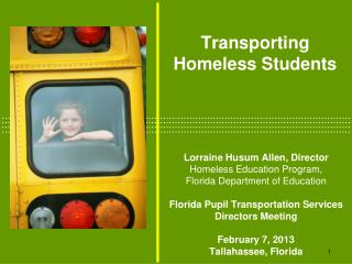 Transporting  Homeless Students