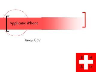 Applicatie iPhone