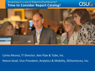 Drowning in a sea of Reports/Dashboards?   Time to Consider Report Catalog!