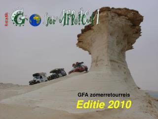 GFA zomerretourreis