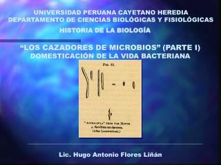 HISTORIA DE LA BIOLOGÍA